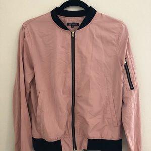 Jackets & Blazers - Pink bomber jacket